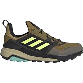 adidas TERREX Trailmaker Gore-Tex Hiking Shoes Men, olive/noir